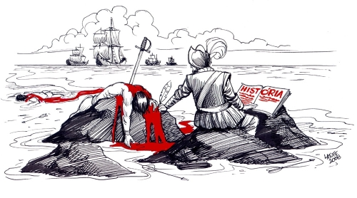 Ilustração Latuff
