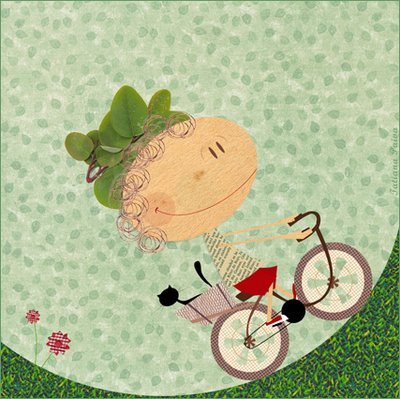 Ilustração: Tatiana Paiva via diários da bicicleta
