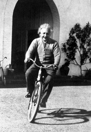 A. Einstein no Bikedrops