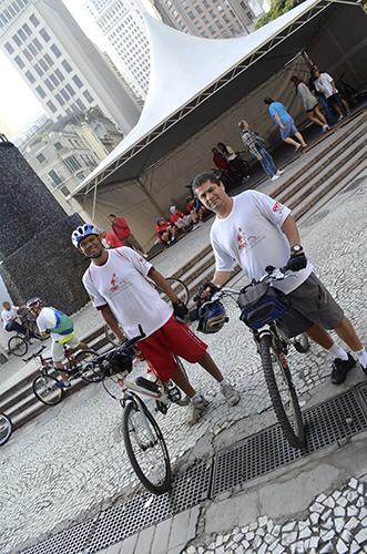1º Passeio Ciclístico da CUT São Paulo