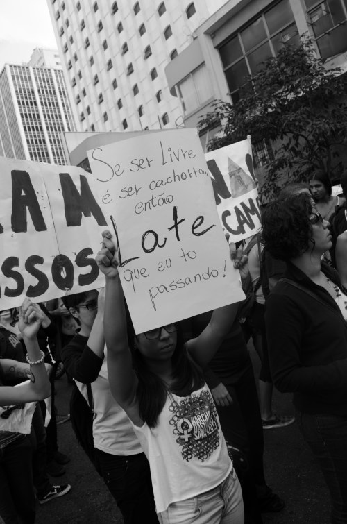 marcha das vadias sp 2013